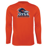 Performance Orange Longsleeve Shirt-Track & Field