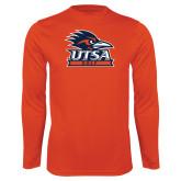 Performance Orange Longsleeve Shirt-Golf