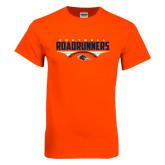 Orange T Shirt-Roadrunners Football Horizontal