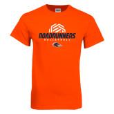 Orange T Shirt-Roadrunners Volleyball Geometric Ball