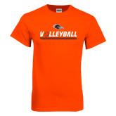 Orange T Shirt-Volleyball Bar