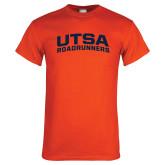 Orange T Shirt-Arched UTSA