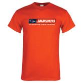 Orange T Shirt-Roadrunners Bar w/ Head