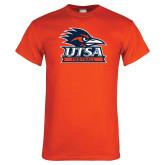Orange T Shirt-Football