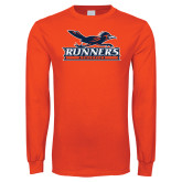 Orange Long Sleeve T Shirt-Runners Athletics