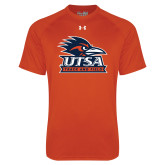Under Armour Orange Tech Tee-Track & Field