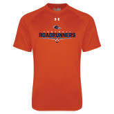 Under Armour Orange Tech Tee-Roadrunners Football Underline