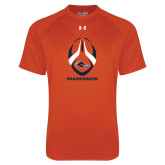 Under Armour Orange Tech Tee-Roadrunners Football Vertical