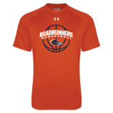 Under Armour Orange Tech Tee-Roadrunners Basketball Arched