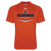 Under Armour Orange Tech Tee-Roadrunners Baseball Plate