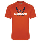 Under Armour Orange Tech Tee-Roadrunners Track & Field Wings