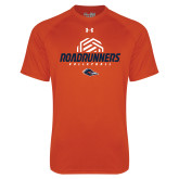 Under Armour Orange Tech Tee-Roadrunners Volleyball Geometric Ball