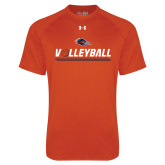 Under Armour Orange Tech Tee-Volleyball Bar