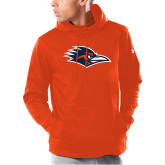 Under Armour Orange Armour Fleece Hoodie-Roadrunner Head