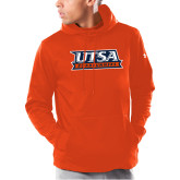 Under Armour Orange Armour Fleece Hoodie-UTSA Roadrunners Stacked