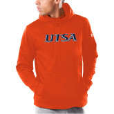 Under Armour Orange Armour Fleece Hoodie-UTSA