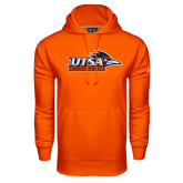 Under Armour Orange Performance Sweats Team Hood-UTSA Roadrunners w/ Head Flat