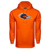 Under Armour Orange Performance Sweats Team Hood-Roadrunner Head