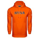 Under Armour Orange Performance Sweats Team Hood-UTSA