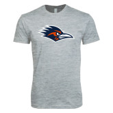 Next Level SoftStyle Heather Grey T Shirt-Roadrunner Head