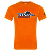 Adidas Orange Logo T Shirt-UTSA Roadrunners w/ Head Flat
