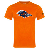 Adidas Orange Logo T Shirt-Roadrunner Head