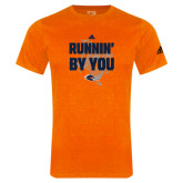 Adidas Orange Logo T Shirt-Adidas UTSA Roadrunners Logo