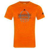 Adidas Orange Logo T Shirt-Adidas UTSA Football Logo