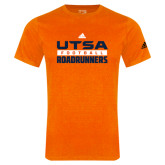 Adidas Orange Logo T Shirt-Adidas UTSA Roadrunners Football Logo