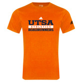 Adidas Orange Logo T Shirt-Adidas UTSA Roadrunners Athletics Logo