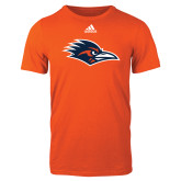 Adidas Orange Logo T Shirt-Roadrunner Head