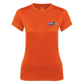 Ladies Syntrel Performance Orange Tee-UTSA Roadrunners w/ Head Flat