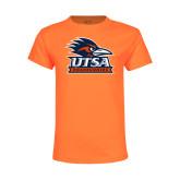 Youth Neon Orange T Shirt-Primary Logo