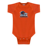Orange Infant Onesie-Primary Logo