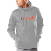 Under Armour Grey Armour Fleece Hoodie-UTSA