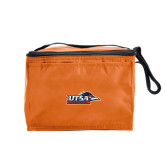 Six Pack Orange Cooler-UTSA Roadrunners w/ Head Flat