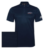 Adidas Climalite Navy Game Time Polo-UTSA Roadrunners w/ Head Flat