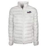 Columbia Mighty LITE Ladies White Jacket-UTSA Roadrunners w/ Head Flat