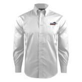 Red House White Dobby Long Sleeve Shirt-UTSA Roadrunners w/ Head Flat