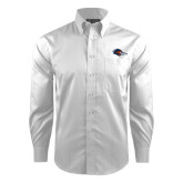 Red House White Dobby Long Sleeve Shirt-Roadrunner Head