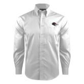 Red House White Dobby Non Iron Long Sleeve Shirt-Roadrunner Head