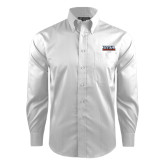 Red House White Dobby Long Sleeve Shirt-UTSA Roadrunners Stacked