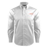 Red House White Dobby Non Iron Long Sleeve Shirt-UTSA
