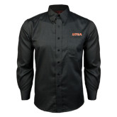 Red House Black Long Sleeve Shirt-UTSA