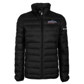 Columbia Mighty LITE Ladies Black Jacket-UTSA Roadrunners w/ Head Flat