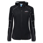 Columbia Ladies Sweet As Black Hooded Jacket-UTSA Roadrunners w/ Head Flat