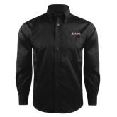 Red House Black Herringbone Long Sleeve Shirt-UTSA Roadrunners Stacked