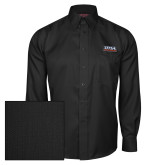 Red House Black Herringbone Long Sleeve Shirt-UTSA Roadrunners Stacked