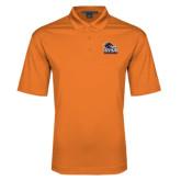 Orange Performance Fine Jacquard Polo-Primary Logo