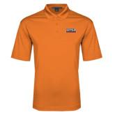 Orange Performance Fine Jacquard Polo-UTSA Roadrunners Stacked